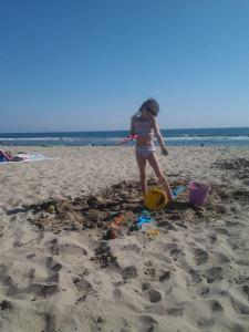 Scarlet beach