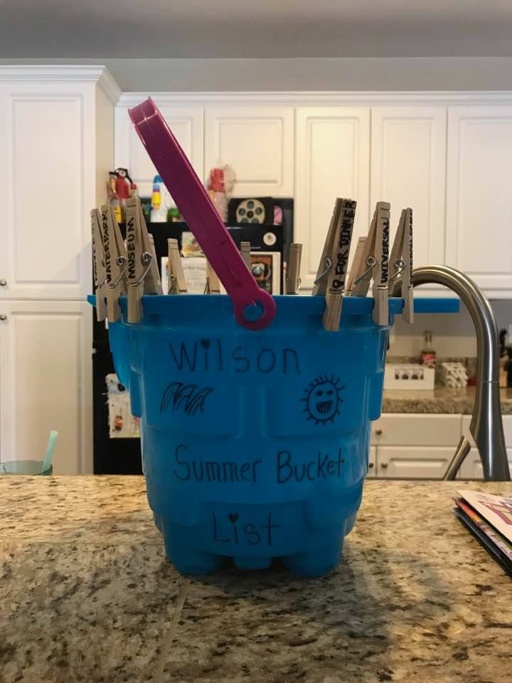 2017 Summer Bucket List