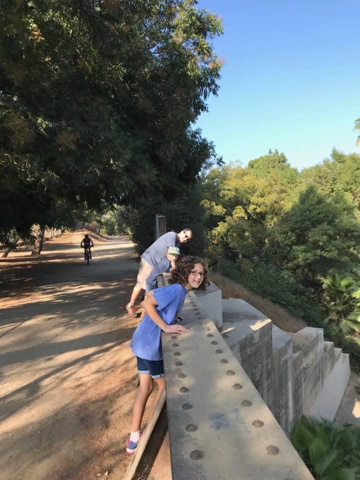 Fullerton Loop Bridge Smiles