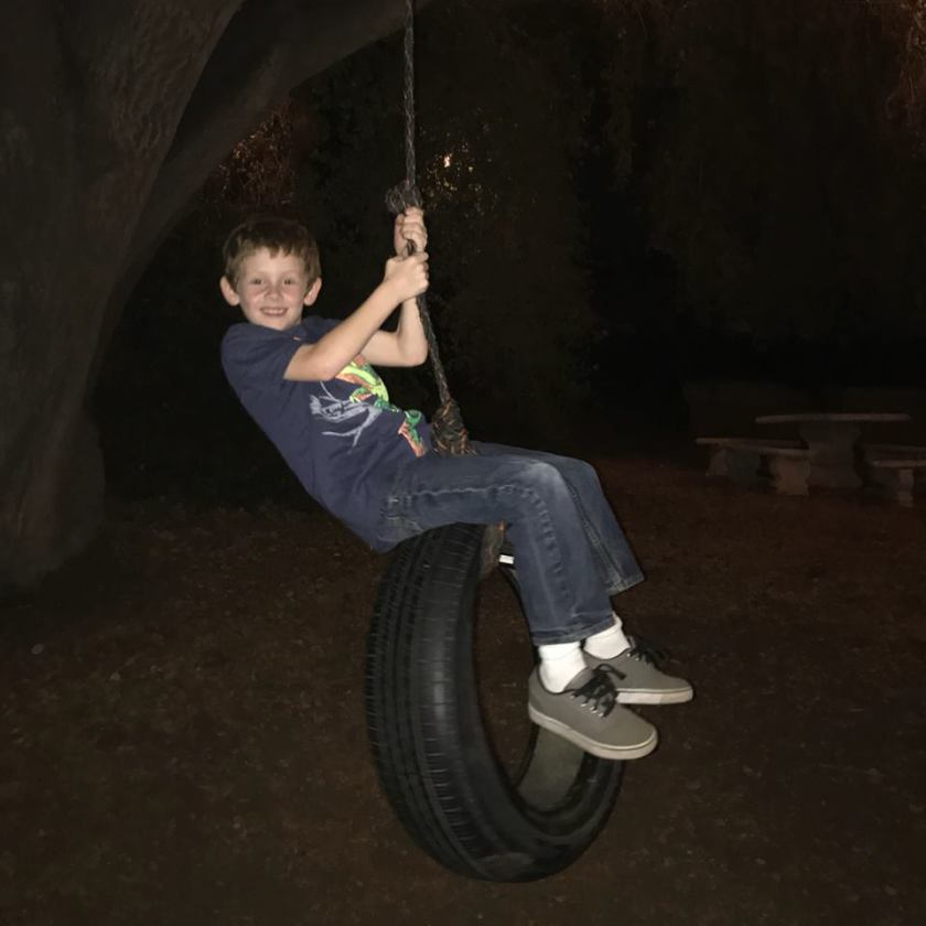 Wesley Tire Swing